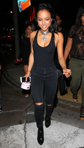 Karrueche Hits 1oak