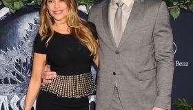 """Sofia Vergara and Joe Manganiello """"Jurassic World"""" premiere"""