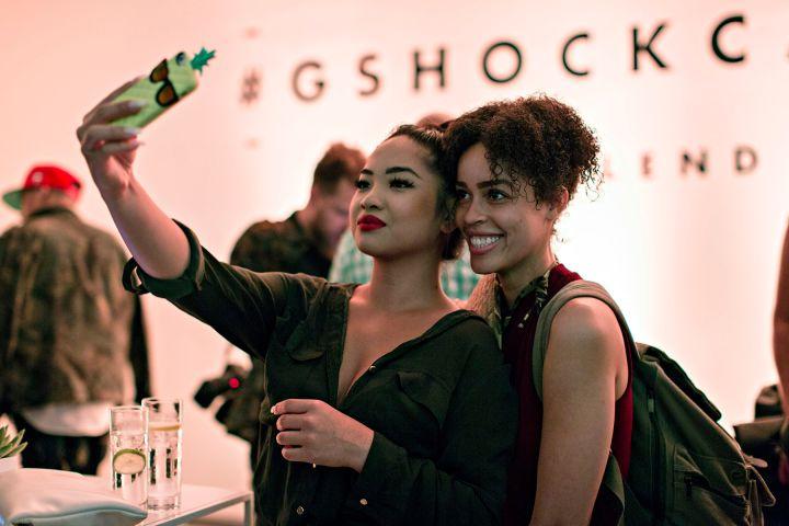 Selfies x G-Shock