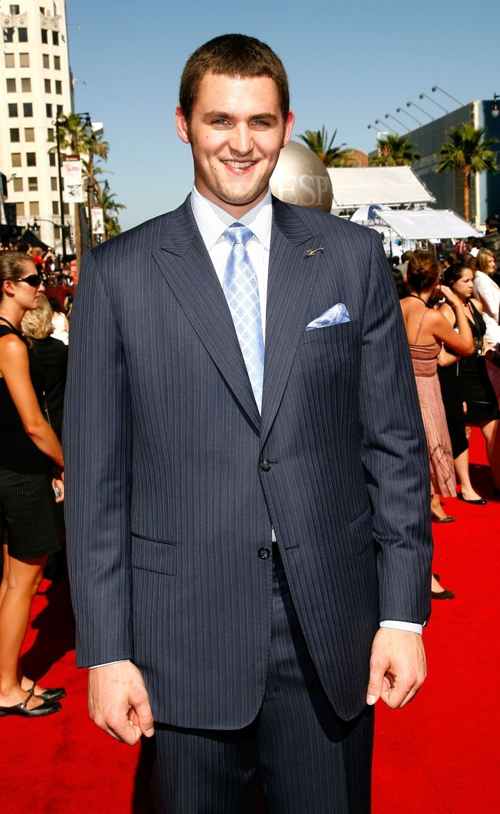 Kevin Love back in 2007 at the ESPY Awards.