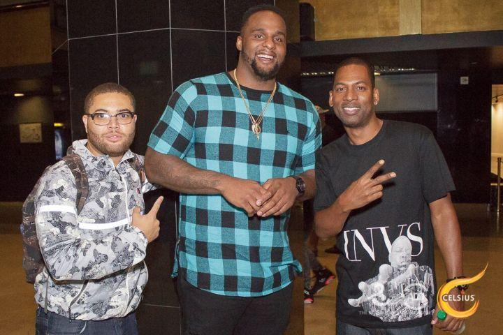 DJ Printz, Big Baby, and Tony Rock share the spotlight.