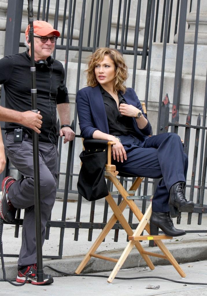 Jennifer Lopez - shades of blue set