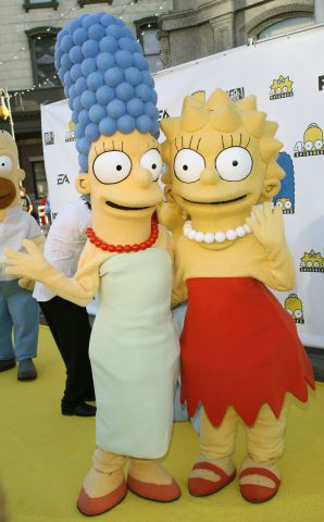 Marge Simpson, Lisa Simpson