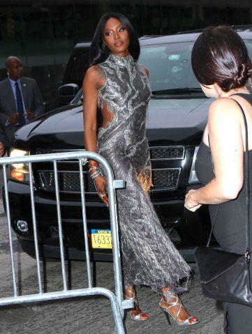 Naomi Campbell at the 2015 Fragrance Foundation Awards