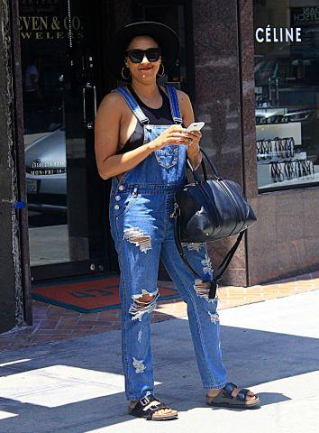 Tia Mowry seen in Beverly Hills