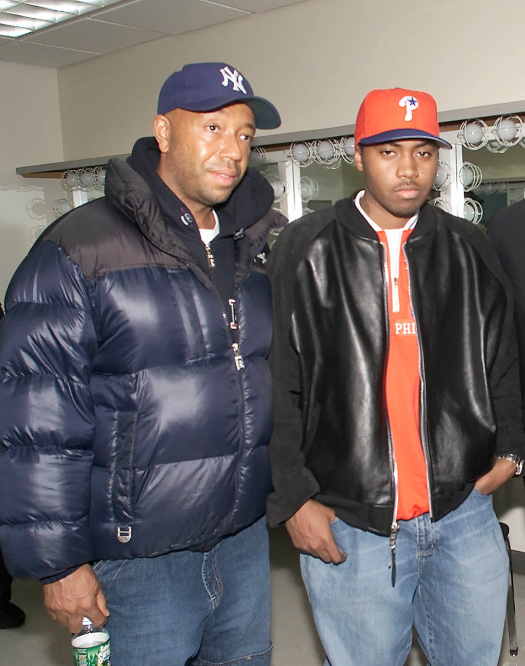 Russell Simmons & Nas