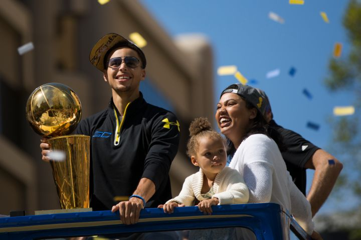 This parade was really for Riley, tbh.