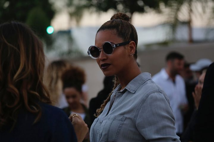 Beyonce and Jay Z attend Wes Lang's L.A. art show
