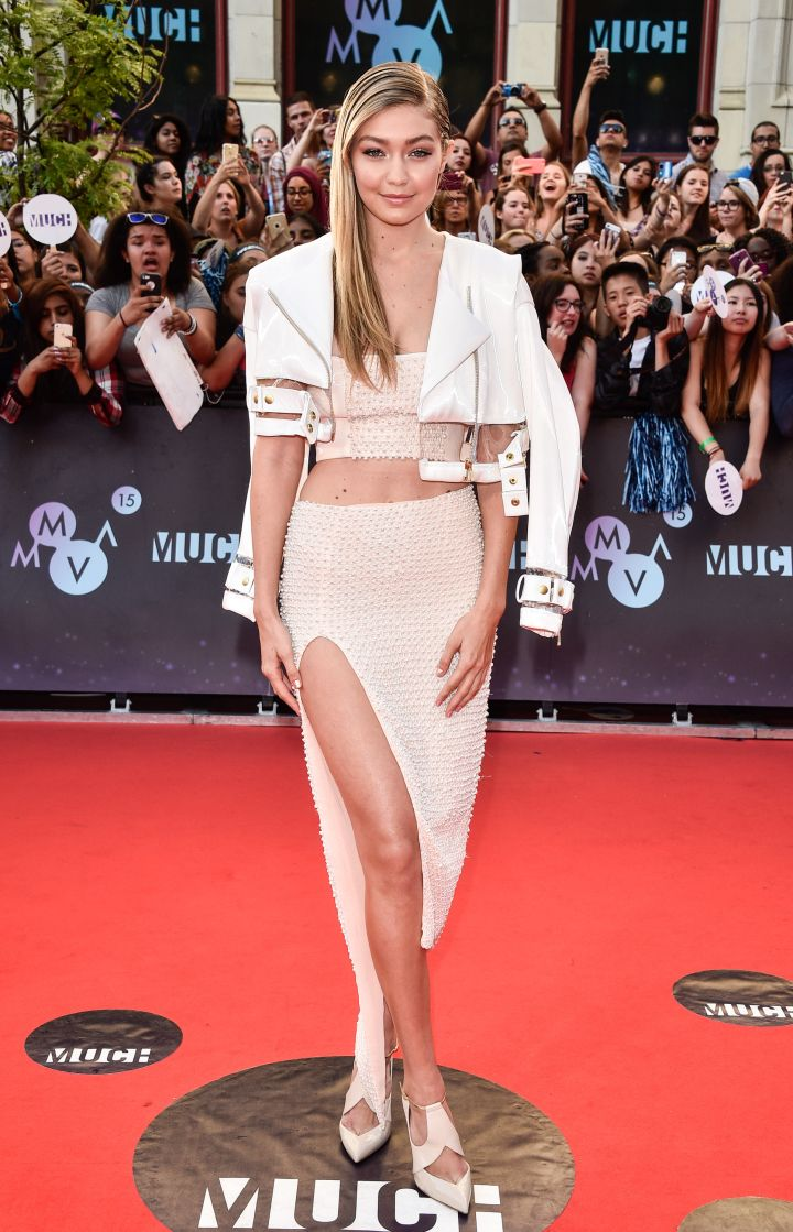 Gigi Hadid was in first place.