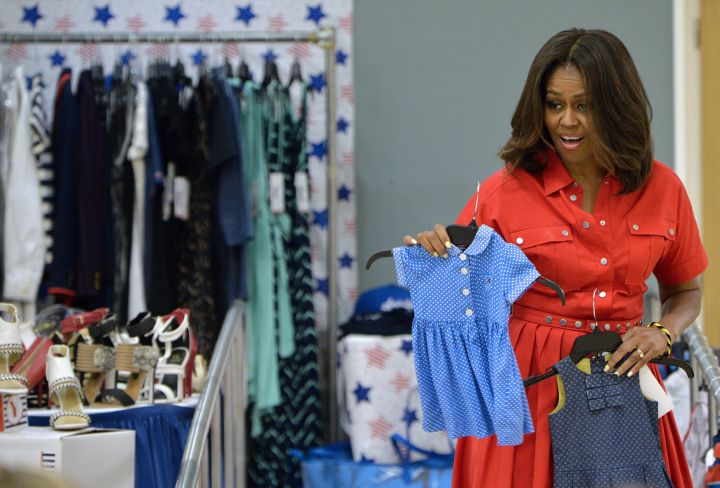 We could all use some fashion advice from the First Lady.