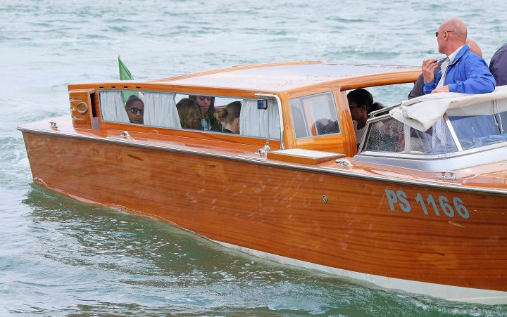 Because VIP boat rides in Venice are chic, too.