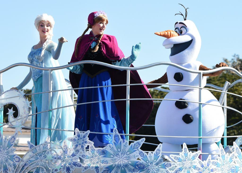 Frozen parade