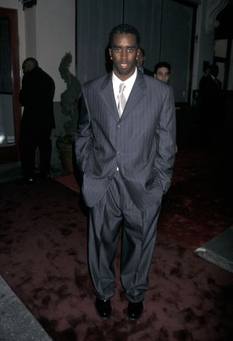 P. Diddy - Grand Opening of Sean Comb's 'Justin's Restaurant'