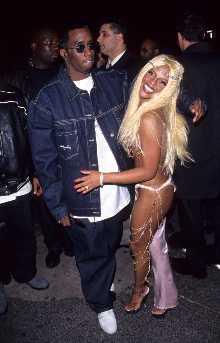 The super throwback of Diddy and Lil Kim.