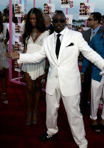 MTV Video Music Awards 2004 - Arrivals P. DIddy