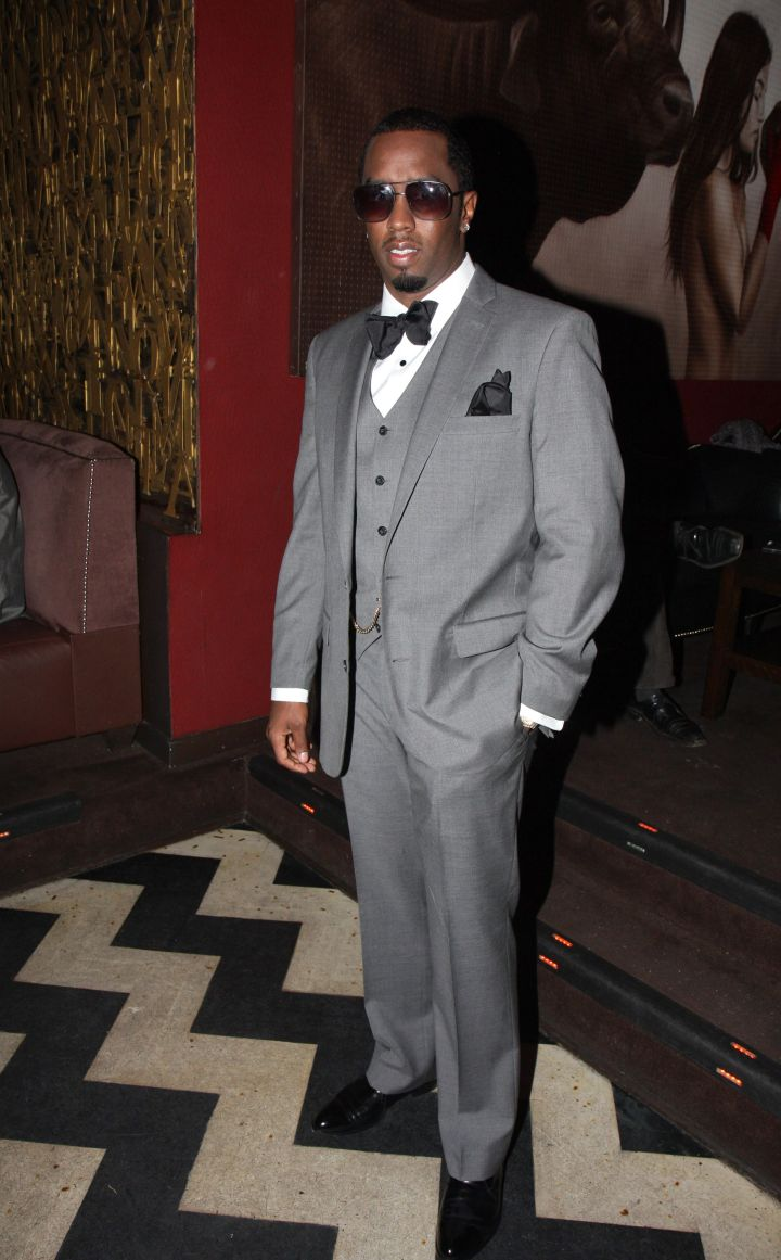 Diddy cleans up nice.