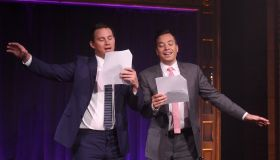 Channing Tatum Visits 'The Tonight Show Starring Jimmy Fallon'