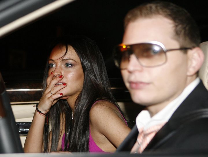 Scott & Lindsay Lohan.