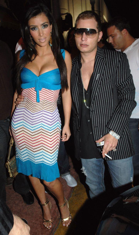 Scott & His Ex-Girlfriend Kim Kardashian.