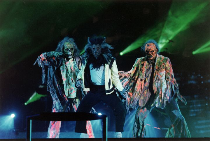 "Get this… The costumes for the ""Thriller"" video came from the Salvation Army."
