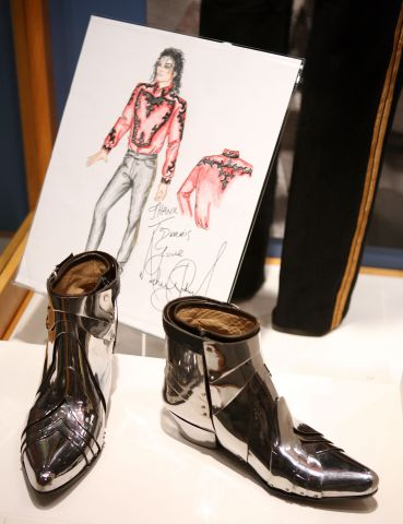Michael Jackson Boots