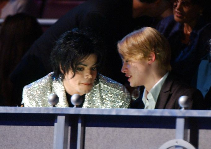 Michael Jackson and Macauley Culkin