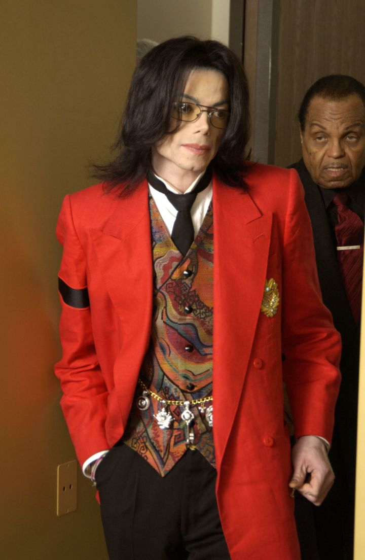 MJ often wore a black armband to remind people of the suffering of children around the world.