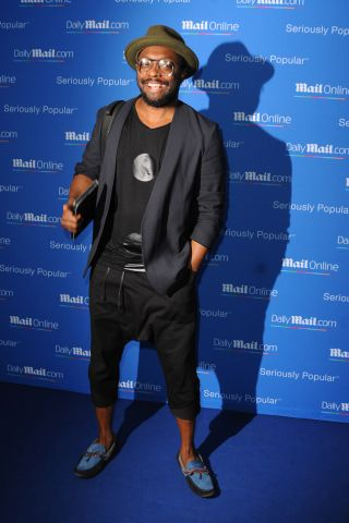 Will.I.Am at CELEBRITY ARRIVES AT MAILONLINE YACHT PARTY IN CANNES