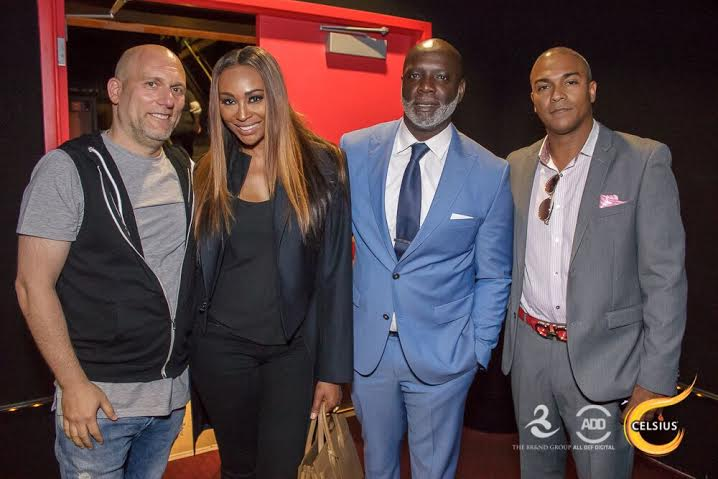 Steve Rifkind, Cynthia Bailey, Peter Thomas at All Def Comedy Live in L.A.
