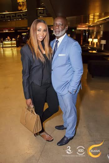 Cynthia Bailey and Peter Thomas at the All Def Digital Comedy Show