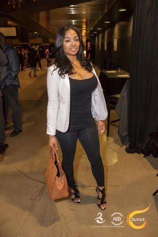 Princess Love looks fly at All Def Comedy Live in L.A.