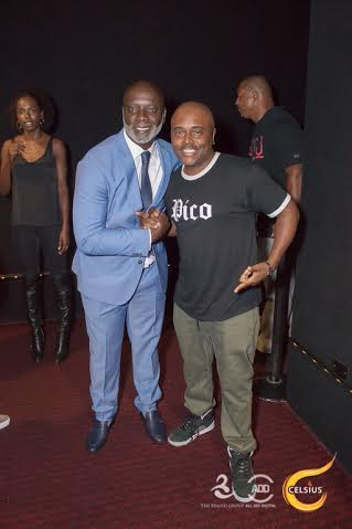 Peter Thomas and Alex Thomas at All Def Comedy Live in L.A.