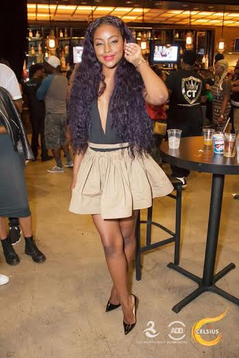 Justine Skye at All Def Comedy Live in L.A.