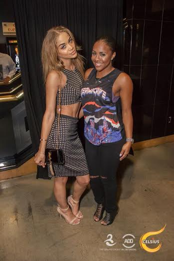 Jasmine Sanders and Miss Diddy at All Def Comedy Live in L.A.