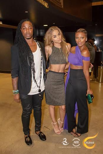 Jasmine Sanders, Eva Marcille at All Def Comedy Live in L.A.