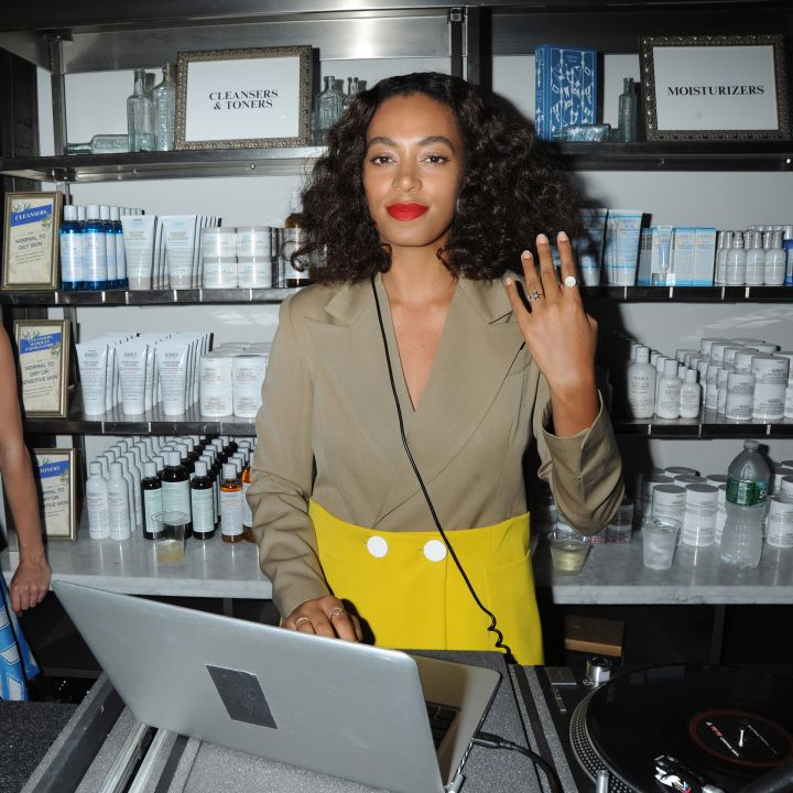 Solange DJ's at the 2015 NYC Pride & Kiehl's Kick-Off Event in NYC