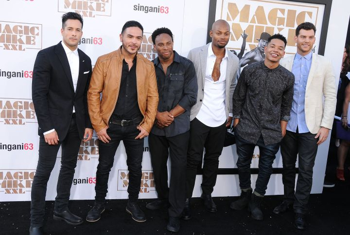 "The men of ""Magic Mike XXL."""