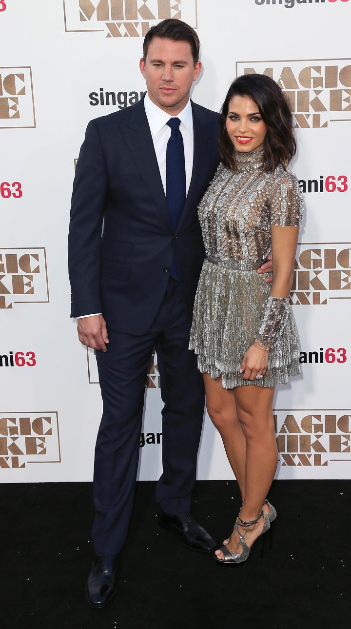 Channing Tatum and his gorgeous wife Jenna Dewan-Tatum are picture perfect.