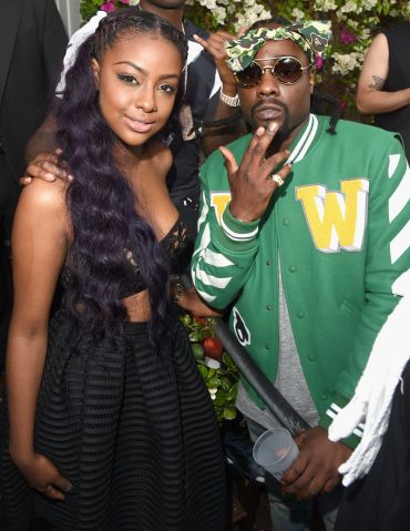 Justine Skye and Wale attend Tidal X: MEEK MILL at Mondrian Hotel on June 26, 2015