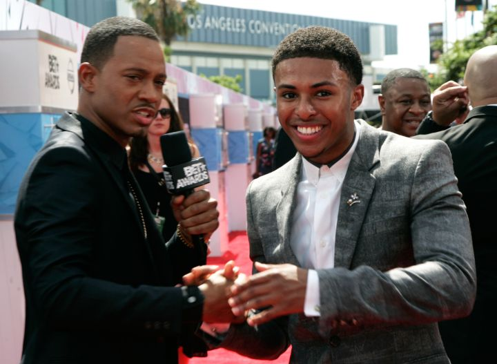 Diggy Simmons chatted with Terrence J.