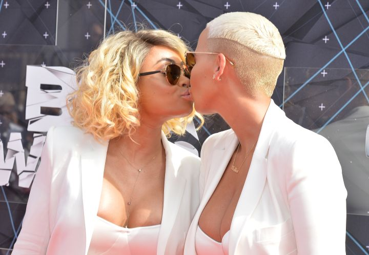 Amber Rose has never been shy about her sexuality. She even openly admitted to being in a relationship with a girl, way before her Kanye days.