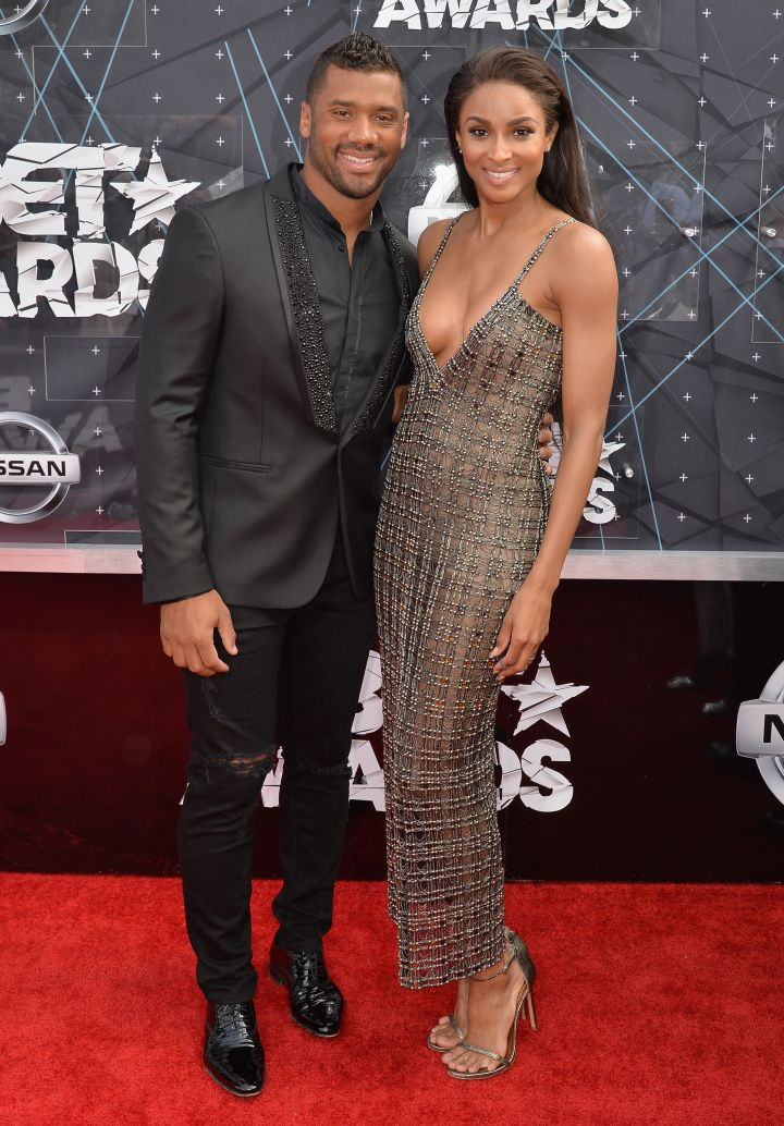 Ciara and Russell Wilson made their first red carpet debut as a couple.