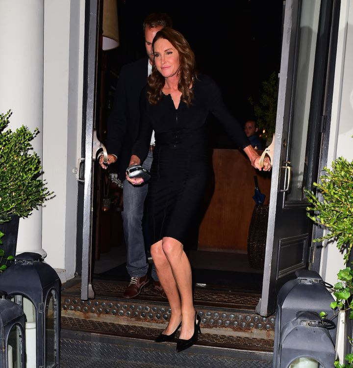 Caitlyn Jenner's little black dress game might be better than ours.
