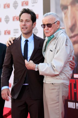 Stan Lee, Paul Rudd