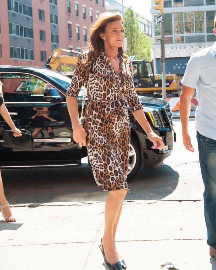 Caitlyn Jenner shows us how it's done in SoHo.