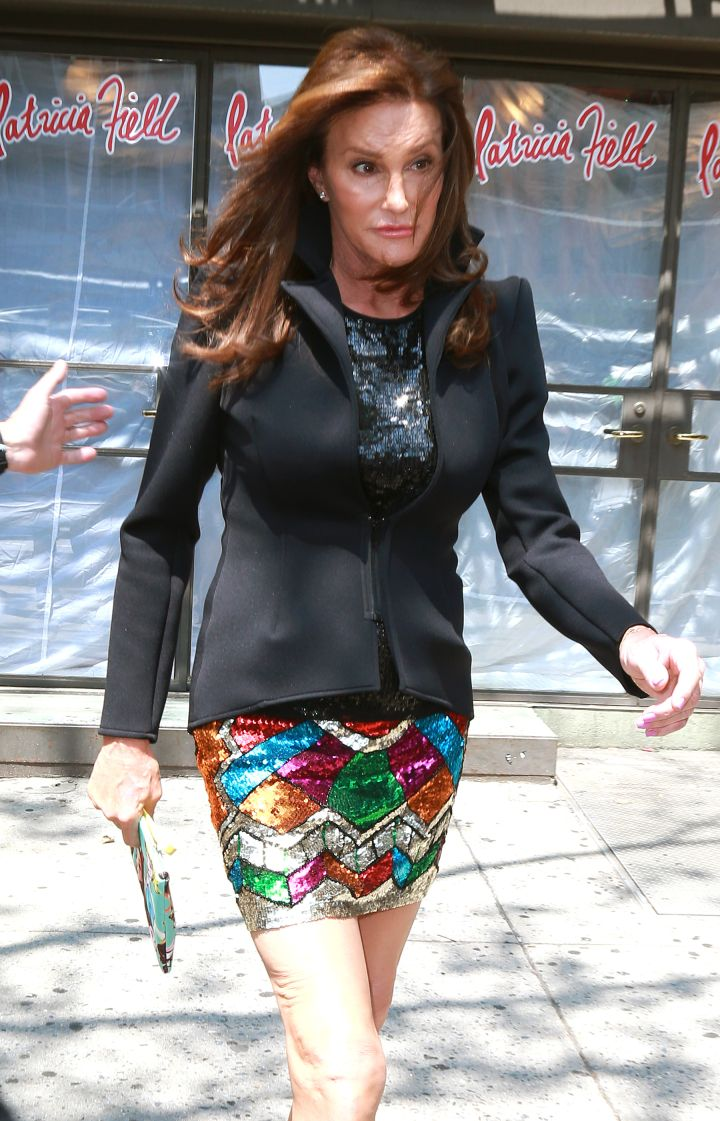 Caitlyn Jenner struts her stuff in NYC.
