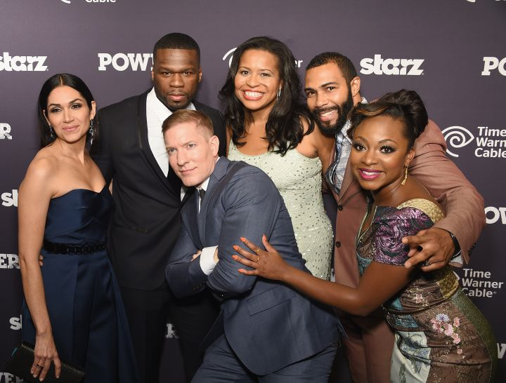"Power: 50 Cent is into all sorts of entertainment. Though he obviously stars in the Starz hit series ""Power,"" did you know he also produced the show? ""Power"" holds the ""most viewers ever for a Starz original series"" record."