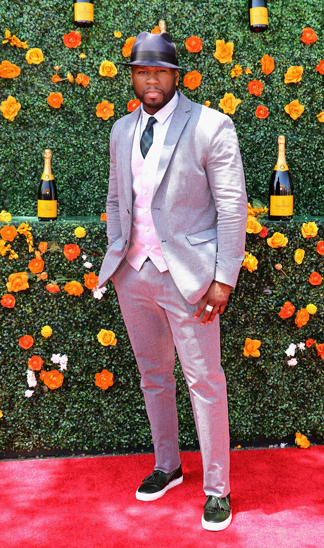 50 Cent- 8th Annual Veuve Clicquot Polo Classic