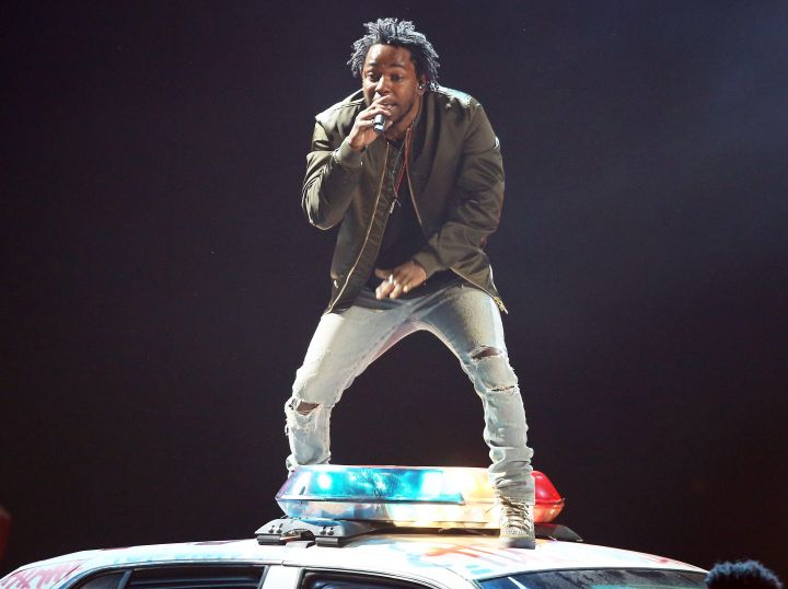 Kendrick Lamar championed the Black Lives Matter