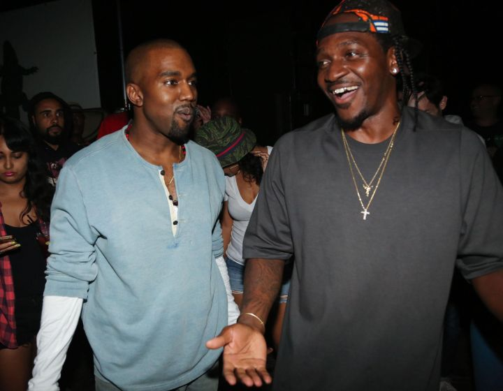 """He made Pusha T re-write his verse on """"Runaway"""" four times. Each time, pushing Pusha T to get more angry."""